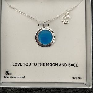 "Jewelry - Brand new ""Love you to the moon and back"" necklace"